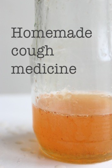 Homemade cough medicine from Wolves in London