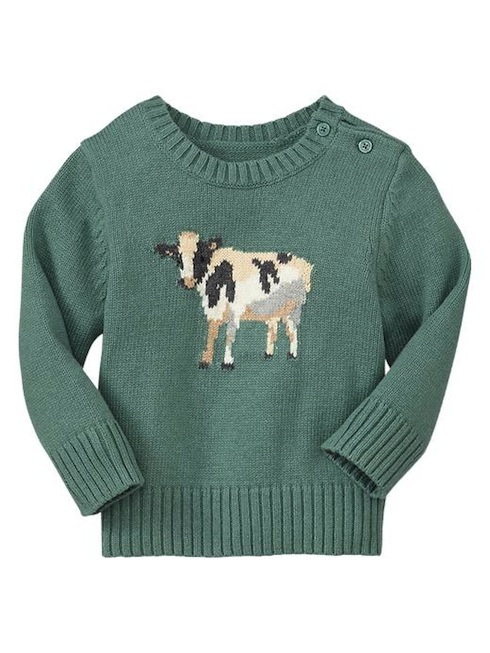 Gap cow baby jumper