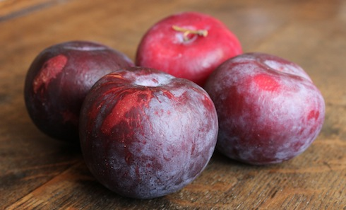 Wizened plums