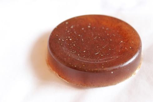 Clove and cinnamon homemade soap