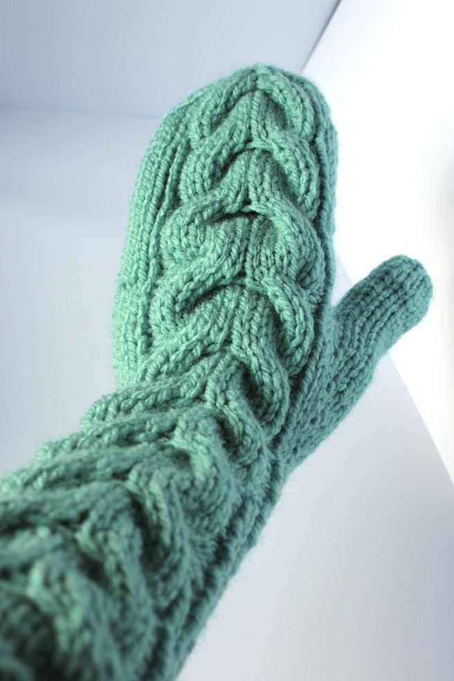 Knitting Pattern For Wool Mittens : Christmas knitting Wolves in London