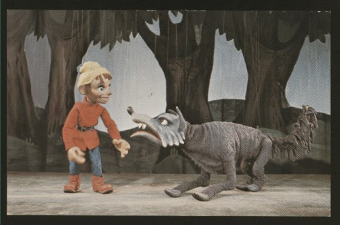 Marionette Peter and wolf