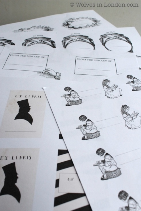 Print your own bookplates