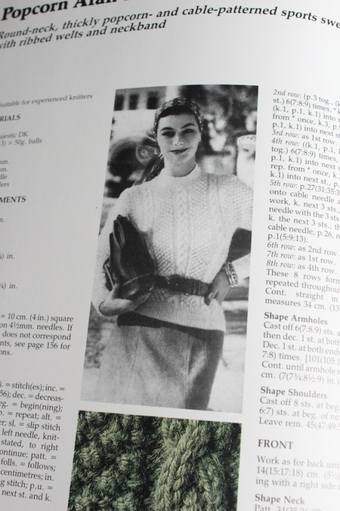 Vintage aran jumper
