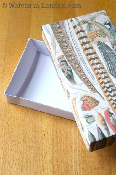 Make your own guft boxes: template and tutorial from Wolves in London