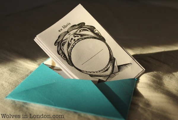 Homemade bookplates