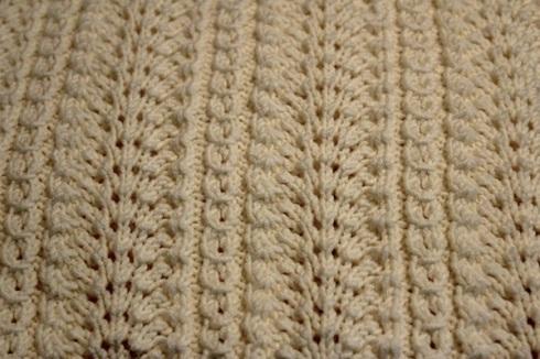 Old Shale Knitting Pattern Afghan : OLD SHALE BABY BLANKET KNITTING PATTERN   KNITTING PATTERN