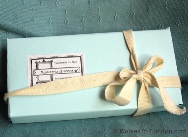 Handmade box template