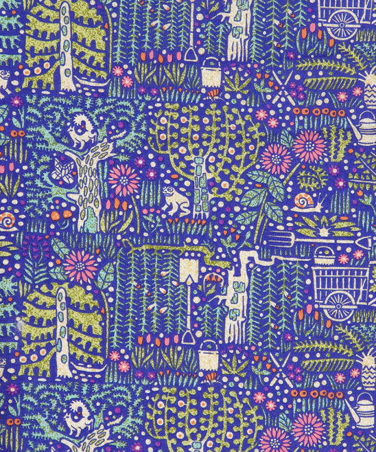 Castile B Tana Lawn fabric by Liberty
