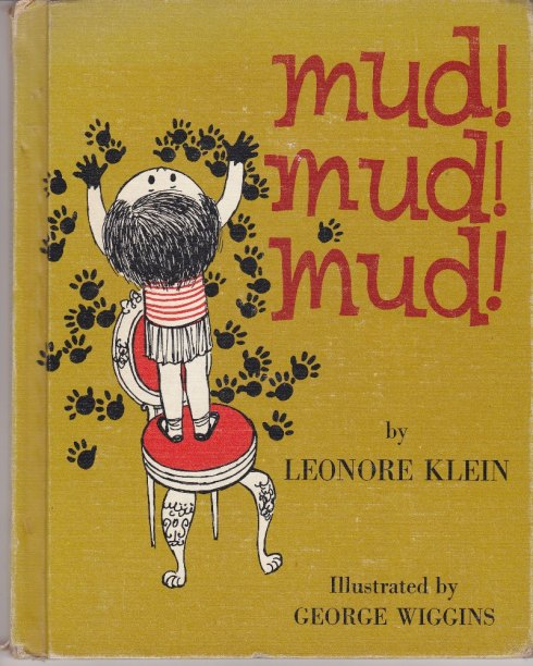 Mud, Mud, Mud, vintage book covers