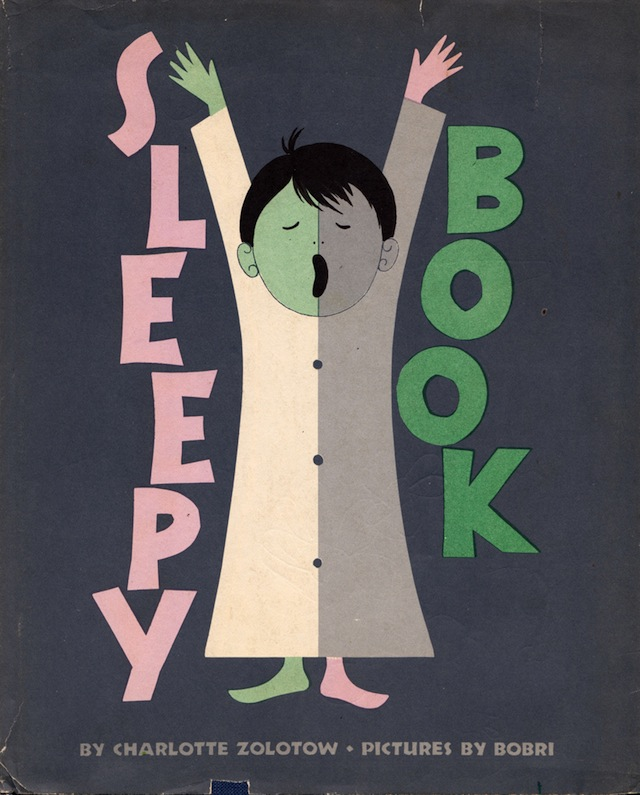Sleepy Book, vintage book cover