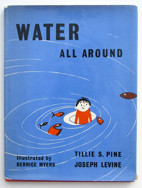 Water All Around, vintage children's book