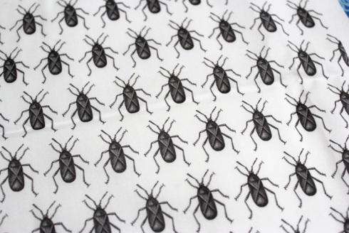 Squash bug fabric