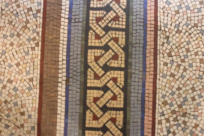 Mosaic floor, Brighton museum