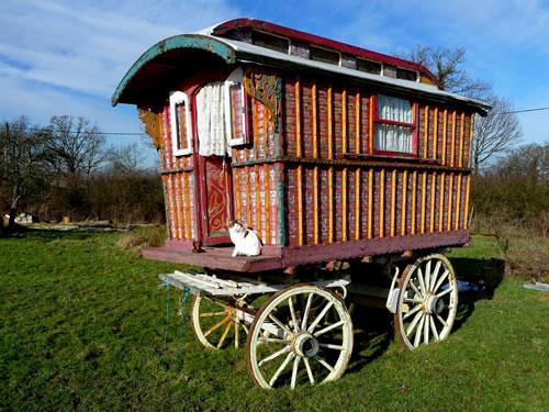 Reading gypsy caravan