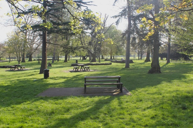 Picnic area, Peckham Rye Park