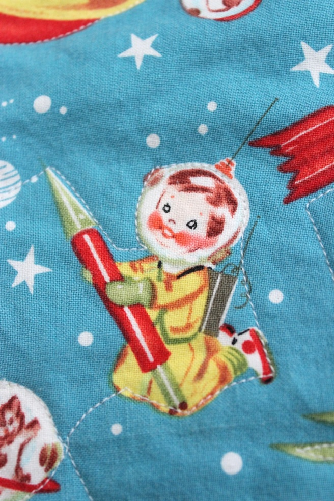 quilted rocket boy