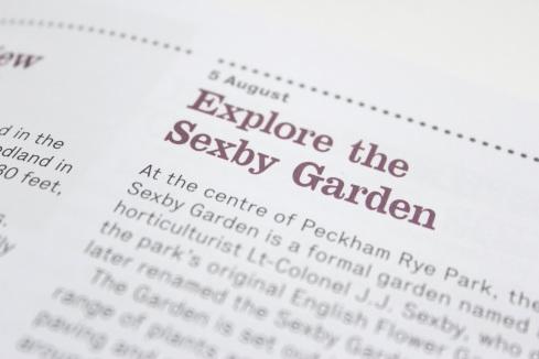 Sexby Garden