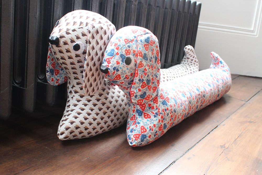 Doggy draught excluders | Wolves in London