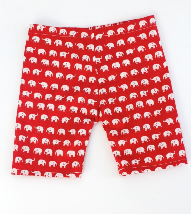 Elephant fabric baby trousers