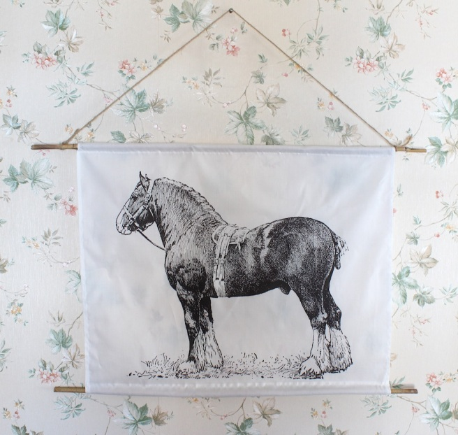 horse wall hanging