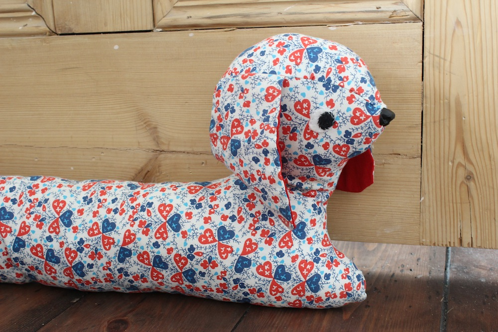 Knit Dog Draught Excluder Wolves In London