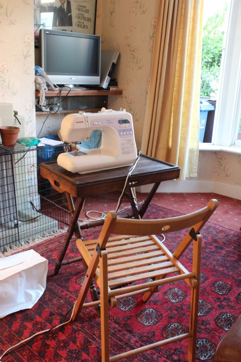 Sitting room sewing