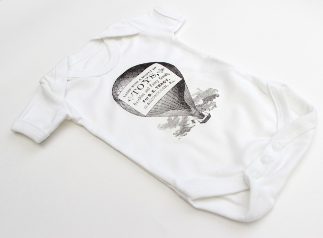 Homeprinted babygrow