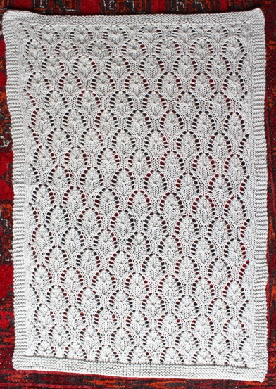 chalice baby blanket