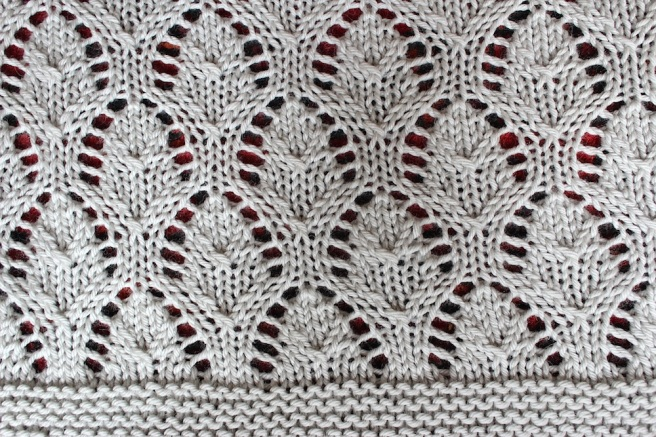 chalice blanket close up