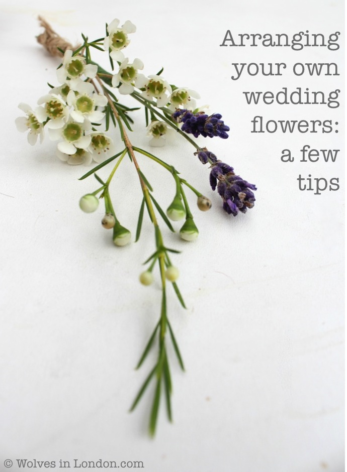 Arranging your own wedding flowers: a few tips | Wolves in