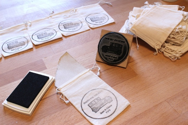 Supplies for hand stamping