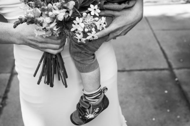 wedding and baby