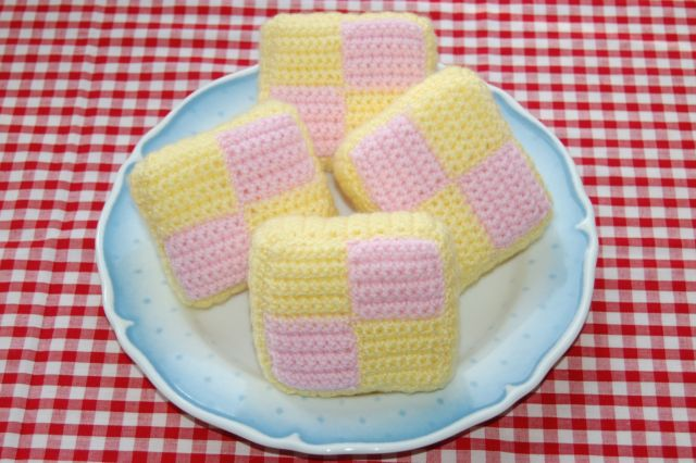 crochet battenburg pattern