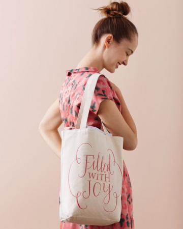 tote wedding favour