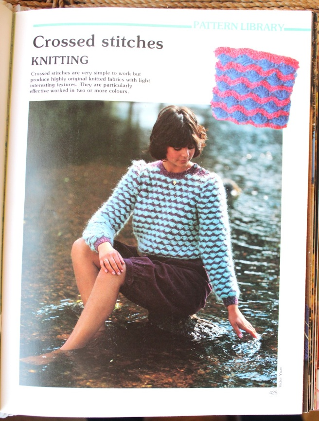 vintage jumper pattern