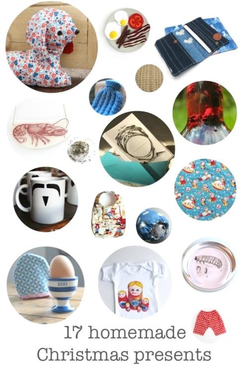 17 tutorials for homemade Christmas presents