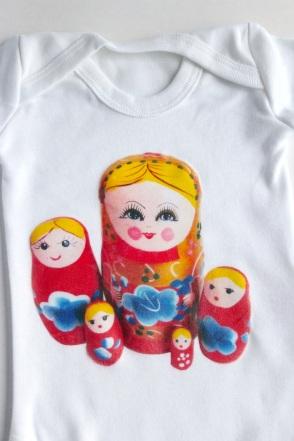 Home printed babygrow