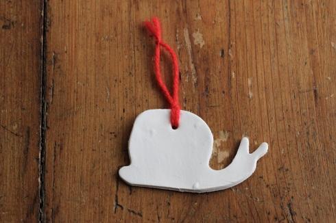 Homemade Christmas decorations