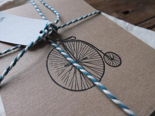 Letterpress notecard