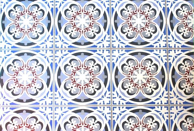 Fired Earth tiles
