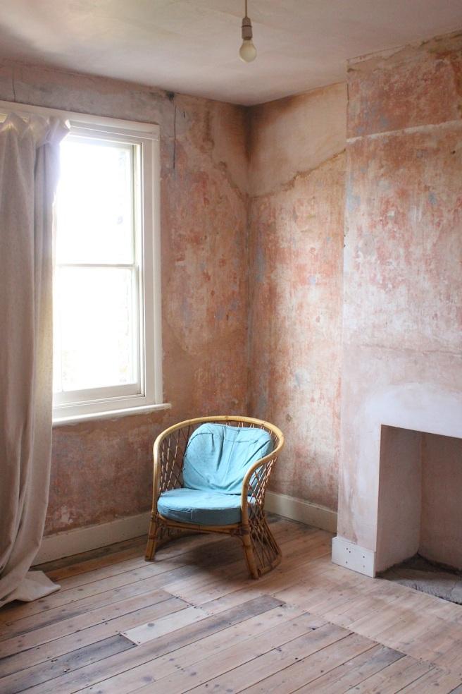 Unpainted room