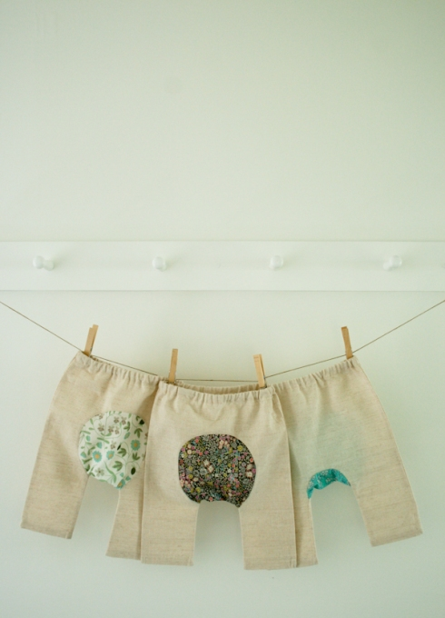 Purl Bee baby trousers