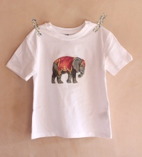 Homemade circus elephant T-shirt | Wolves in London