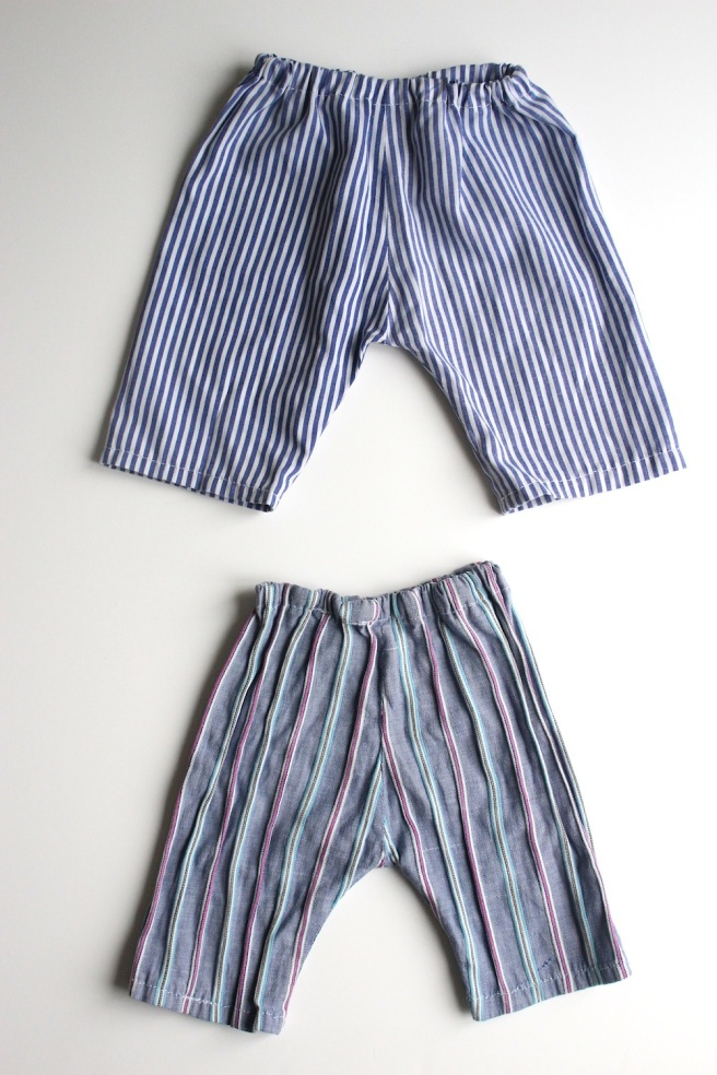 Home sewn baby trousers | Wolves in London