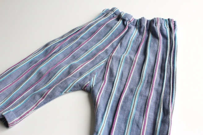 Grey stripy baby trousers | Wolves in London