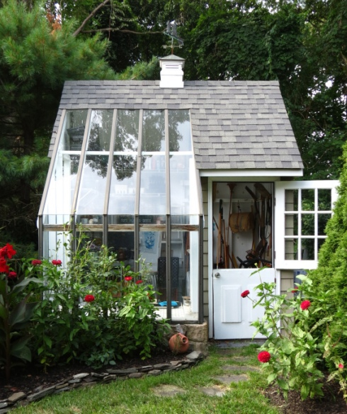 Potting shed slash greenhouse