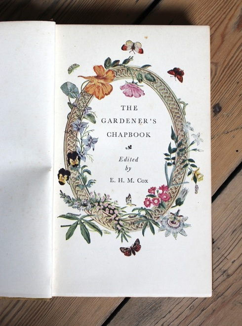 The Gardener's Chapbook