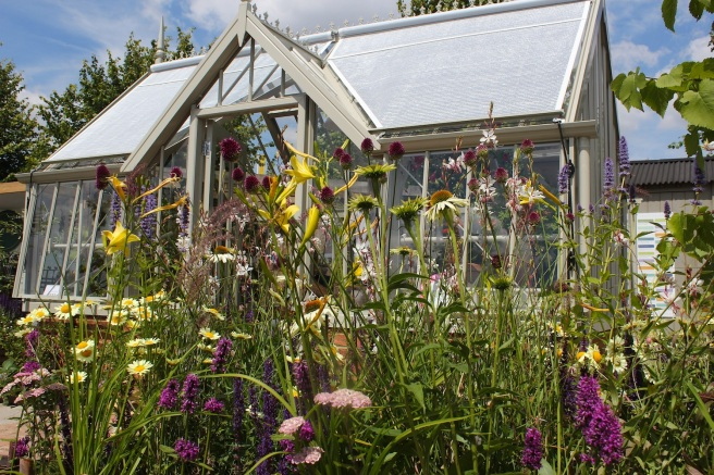Allitex greenhouse at Hampton Court show | Wolves in London