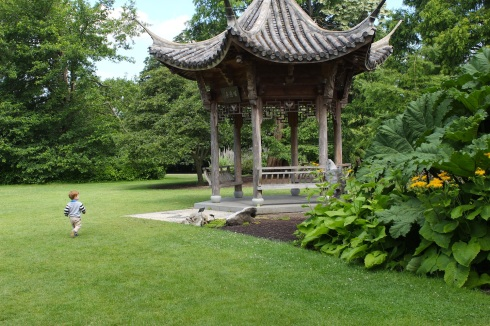 Pagoda at Wisley | Wolves in London